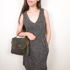 Madewell • Tweed Textured V-Neck Sleeveless Dress